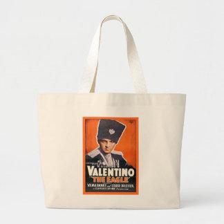 Poster de Rudolph Valentino Bolsa Tote Grande