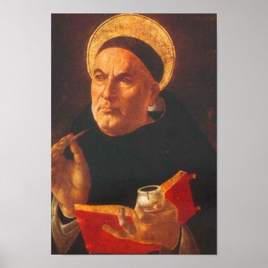Pôster de São Tomás de Aquino