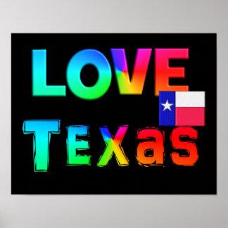 Poster de Texas do amor