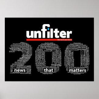 Poster de Unfilter 200
