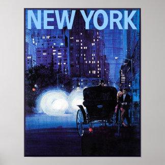 Poster de viagens da Nova Iorque Pôster