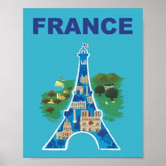 Poster de viagens de France
