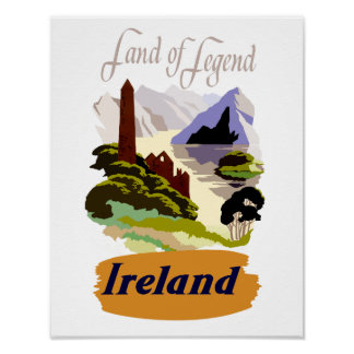 Poster de viagens de Ireland