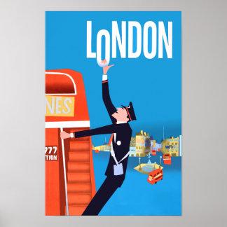 Poster de viagens de Londres