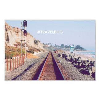 Poster de viagens do hipster impressão de foto