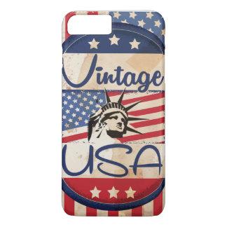 Poster de viagens dos EUA do vintage Capa iPhone 7 Plus