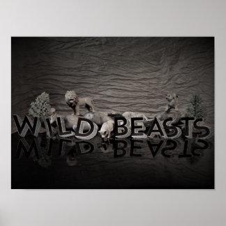 Poster de WildBeasts dos miúdos