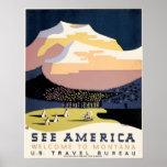 Poster de WPA para o viagem