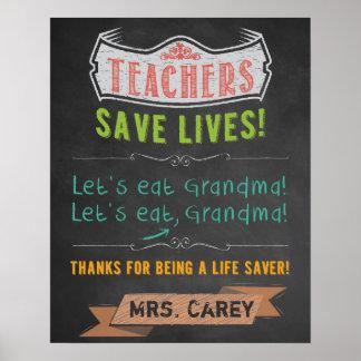 Poster Decoração da sala de aula - apreciação do