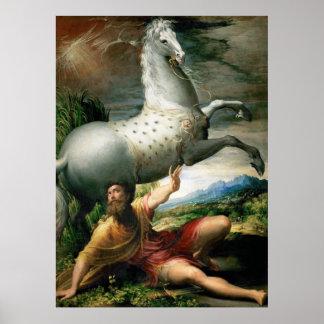 Poster Derramar de Parmigianino de Paul