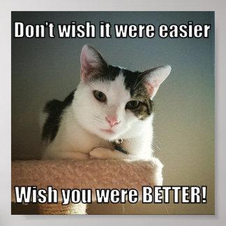 Poster Desejo você era melhor
