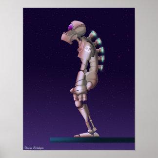 Poster Desenho só do robô