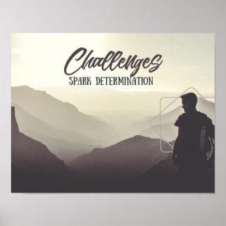 Poster Determinação da faísca dos desafios