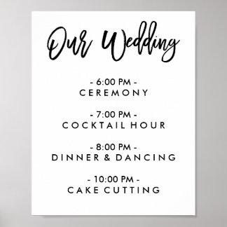 Pôsteres para casamentos