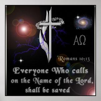 Poster do 10:13 dos romanos