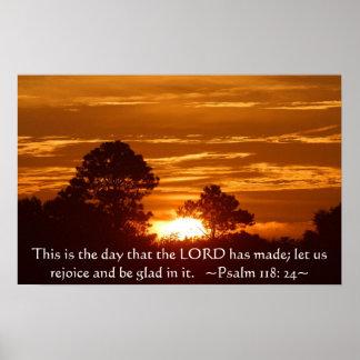 Poster do 118:24 do salmo