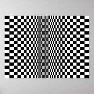 Poster do algoritmo da arte Op Pôster