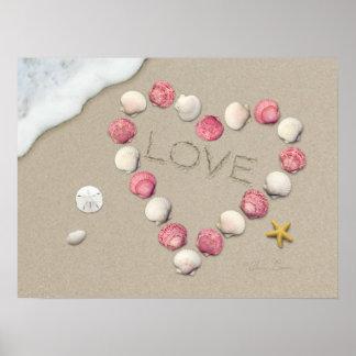 "Poster do ""amor"" de Alan Giana Pôster"