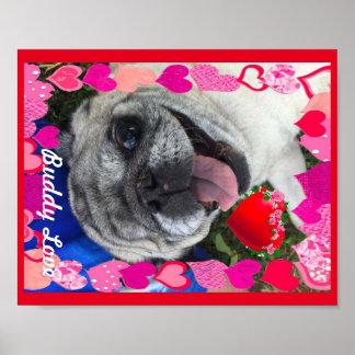 Poster do amor do amigo pôster