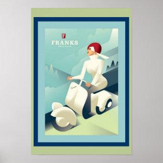 Poster do anúncio das franquias do art deco