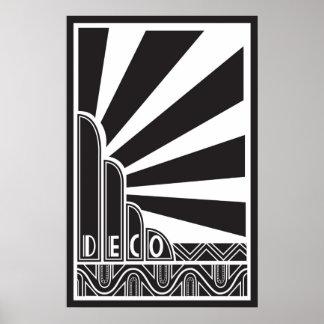 Poster do art deco