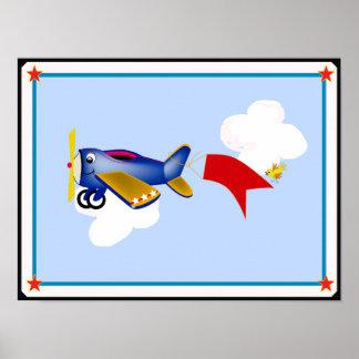 Poster do avião pôster