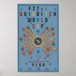 Poster do azul do campeonato do mundo de Quidditch