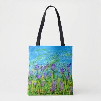 Poster do bolsa com a aguarela pintado à mão do
