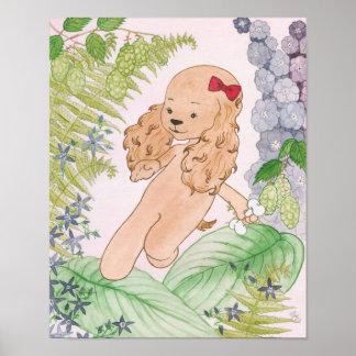 Poster do cão de filhote de cachorro