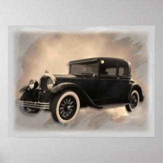Poster do carro antigo