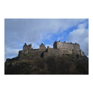 Poster do Castelo de Edimburgo