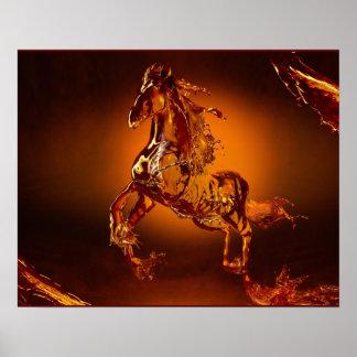 Poster do cavalo