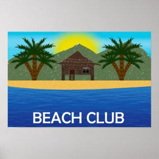 Poster do clube da praia