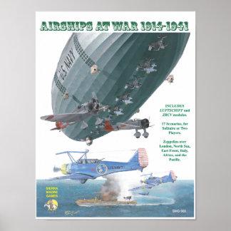 Poster do cobrir dos navios do ar (AAW)
