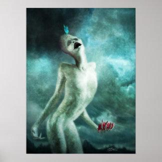 Poster do comedor do órgão do coração pôster