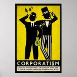 Poster do corporativismo