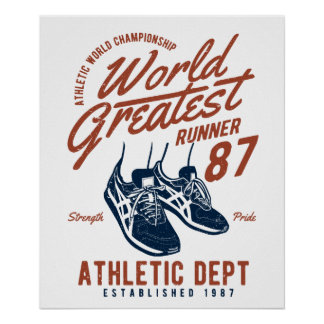 Poster do corredor do mundo o grande