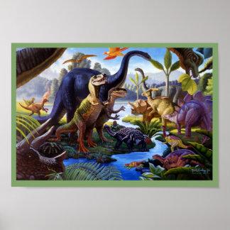 Poster do dinossauro