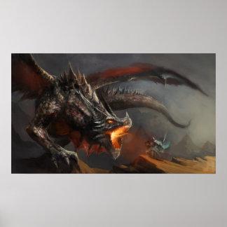 Poster do dragão e do cavaleiro