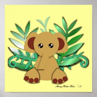 Poster do elefante