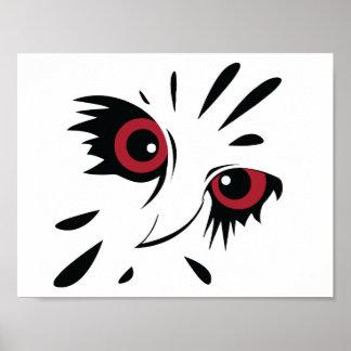 Poster do esboço da coruja pôster