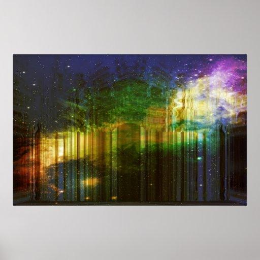 Poster do escape dos sonhos da noite