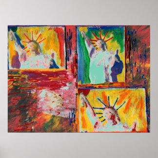 Pôster Do estilo máximo da arte de NYC Peter pintura
