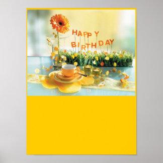 Poster do feliz aniversario