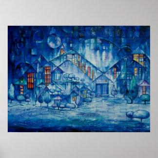 Poster do fulgor do inverno pôster