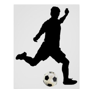 Posters de futebol na Zazzle
