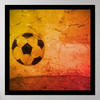 Poster do futebol