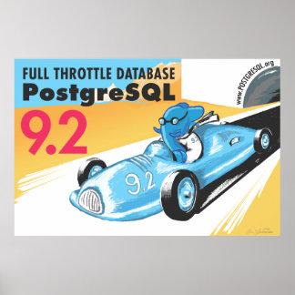 Poster do gigante de PostgreSQL 9,2 Pôster