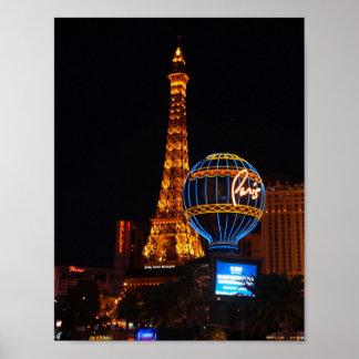 Poster do hotel & do casino #2 de Paris Las Vegas