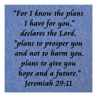 poster do jermiah 29-11